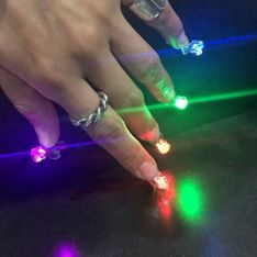 These LED Pierced Disco Nails Will Guarantee You Slay All Day