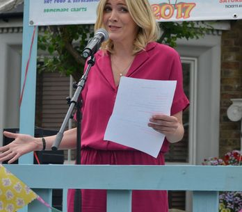 Eastenders 04/09 - Fi Shares Some Harsh Words During Her Walford In Bloom Speech