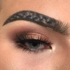 Las braided brows, ¿podrías hacerte una trenza en tus cejas?