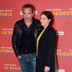 Jean Dujardin et Nathalie Péchalat, couple stylé et amoureux à l'avant-première du film Redoutable (Photos)