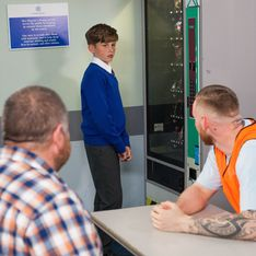 Hollyoaks 28/09 - ​Tom And Charlie Visit Darren Without Nancy's Knowledge