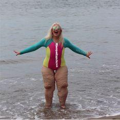 Sie verlor über 170 Kilo und trotzdem lästern andere über sie - DAS ist ihre Antwort!