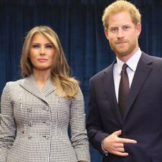 Melania Trump fait un sans-faute vestimentaire pour rencontrer le Prince Harry