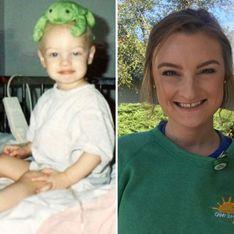 A 24 ans, cette survivante du cancer vient d'être embauchée dans l'hôpital qui lui a sauvé la vie