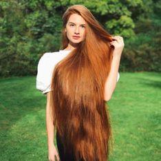 Esta joven supera la alopecia y se convierte en Rapunzel de carne y hueso