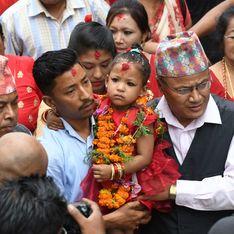 Népal : Une fillette de 3 ans nommée déesse vivante enfermée contre son gré jusqu'à sa puberté