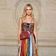 Chiara Ferragni y su vestido multicolor, mejor look de la semana