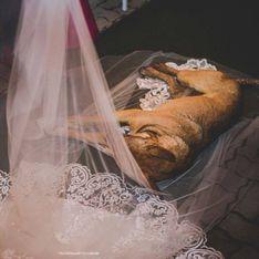 Ein Streuner stört ihre Trauung - und das Brautpaar reagiert überraschend