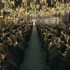 Fans de Harry Potter, ¿os imagináis la cena de Navidad en el comedor de Hogwarts?
