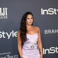 La impactante imagen de Demi Lovato luchando contra la bulimia