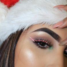 Et si l'eye-liner sucre d'orge était LA tendance de ce Noël 2017 ?