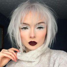Le smoky eyes blanc, la nouvelle tendance make-up de cet hiver ?