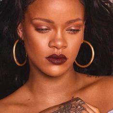 Pour ce rouge à lèvres, Rihanna s'est inspirée des règles (Photos)