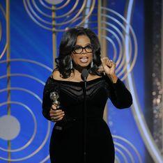 Je veux que toutes les filles sachent qu'un nouveau jour arrive Oprah Winfrey géniale aux Golden Globes