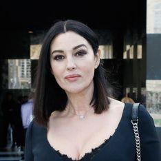 Monica Bellucci, chic et glamour dans une robe midi noire au défilé Dior (Photos)