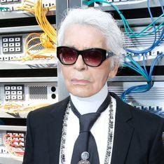 Karl Lagerfeld porte désormais la barbe, et c'est troublant (Photos)