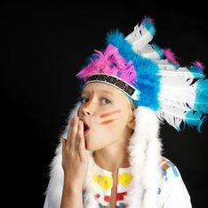 Indianer schminken: So gelingt die Kriegsbemalung!