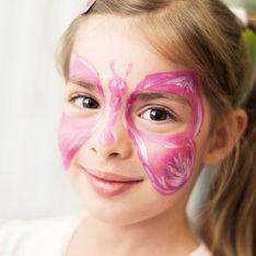 Schmetterling schminken in 5 Schritten: Anleitung zum Nachmachen