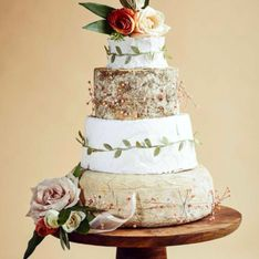 Vous en rêviez ? La pièce montée de fromages s'invite à votre mariage ! (Photos)