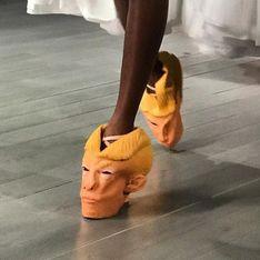 WTF ? Un créateur imagine des chaussures Donald Trump (Photos)