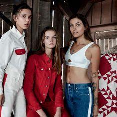 Paris Jackson et Millie Bobby Brown, complices pour Calvin Klein (Photos)