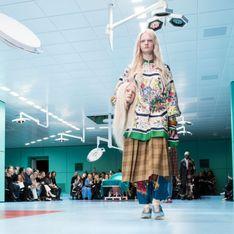 Cabezas decapitadas en el desfile más tétrico de Gucci