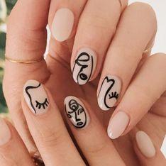 'Picasso nails', el diseño de uñas más artístico que triunfa en la red