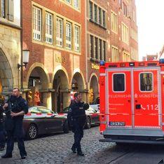 Allemagne : une voiture fonce dans la foule à Münster, plusieurs morts