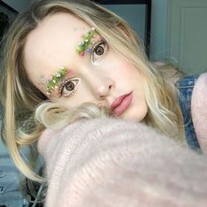 Cejas florales, la última tendencia que invade Instagram