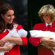 Kate Middleton, son clin d'oeil mode à Diana en sortant de la maternité