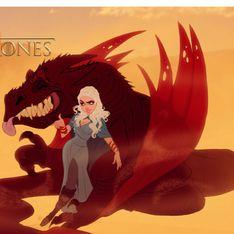 Así serían los personajes de Juego de Tronos si los hiciera Disney