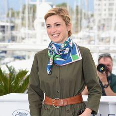 Julie Gayet se la joue audacieuse à Cannes en combinaison kaki