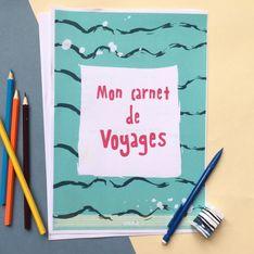 Un carnet de voyages offert pour les vacances !