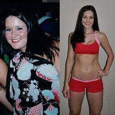 Diese Frau nimmt mehr Kalorien zu sich als zuvor - und verliert über 22 Kilo!