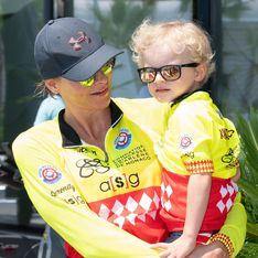 Même en tenue de sport, Charlène de Monaco est accordée à ses jumeaux