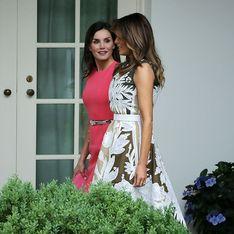 Oups ! Melania Trump et Letizia d'Espagne craquent pour la même robe