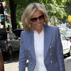 Brigitte Macron, son look casual pour assister à la Fête de la Musique