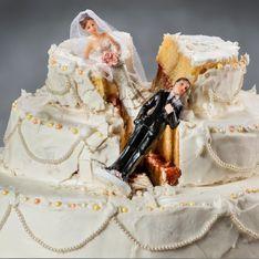 C'est prouvé, plus vous dépensez pour votre mariage, plus vous avez de chance de divorcer !