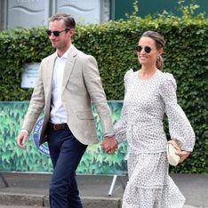 Pippa Middleton chic et bohème, elle affiche un baby bump bien rond à Wimbledon