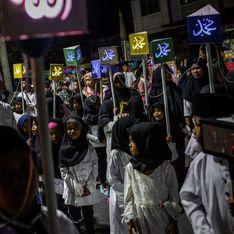 En Indonésie, une école maternelle fait défiler des fillettes déguisées en djihadistes