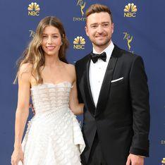 Justin Timberlake et Jessica Biel, couple glamour et stylé aux Emmy Awards