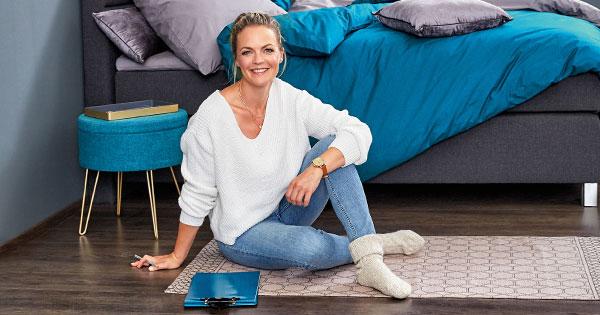 """Wohnen á la """"Zuhause im Glück"""": Eva Brenner designt Interior für Aldi"""