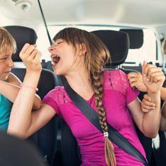 Adopteriez-vous l'invention de ce papa pour éviter les disputes des enfants en voiture ?