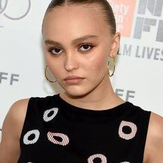 Au festival du film de New York, Lily-Rose Depp nous en met plein la vue (Photos)