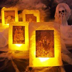 Geniale Dekoidee für Halloween: So gelingt die Grusel-Laterne!