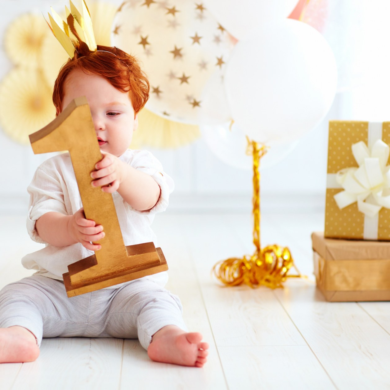25 idées de cadeaux pour un bébé de 1 an