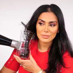 Son improbable astuce pour se boucler les cheveux avec une bouteille en plastique (Vidéo)