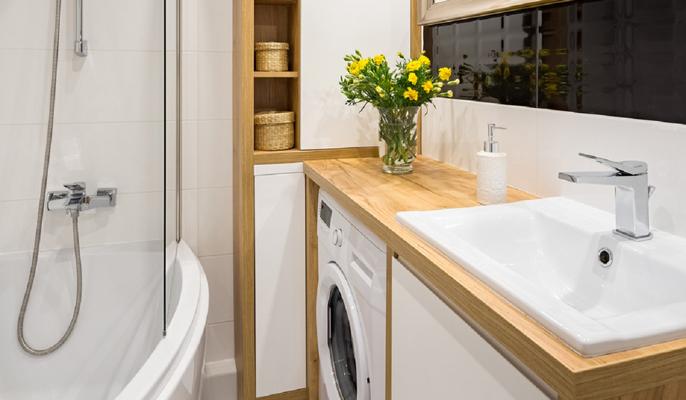 Come arredare un bagno piccolo rettangolare o quadrato for Arredare un ingresso piccolo