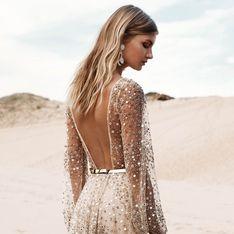 Deswegen sind Brautkleider in Gold DER Hochzeitstrend 2019