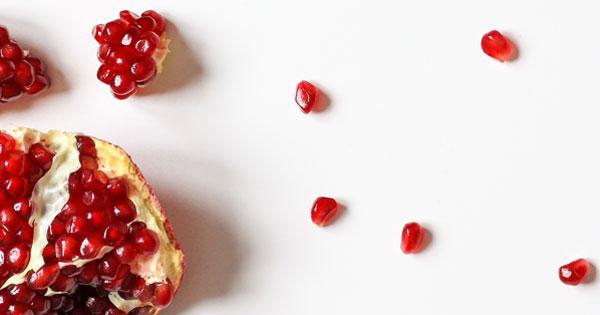16 Granatapfel mit Schale Entsaften und Schokolade Rezepte